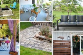 12 DIY Outdoor Projects to Inspire You!