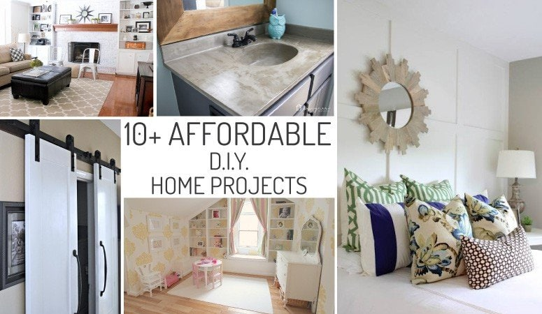 I'm on such a tight budget for fixing up my first house. So glad I found this list of DIY home improvement ideas. Absolutely amazing, especially the first one!