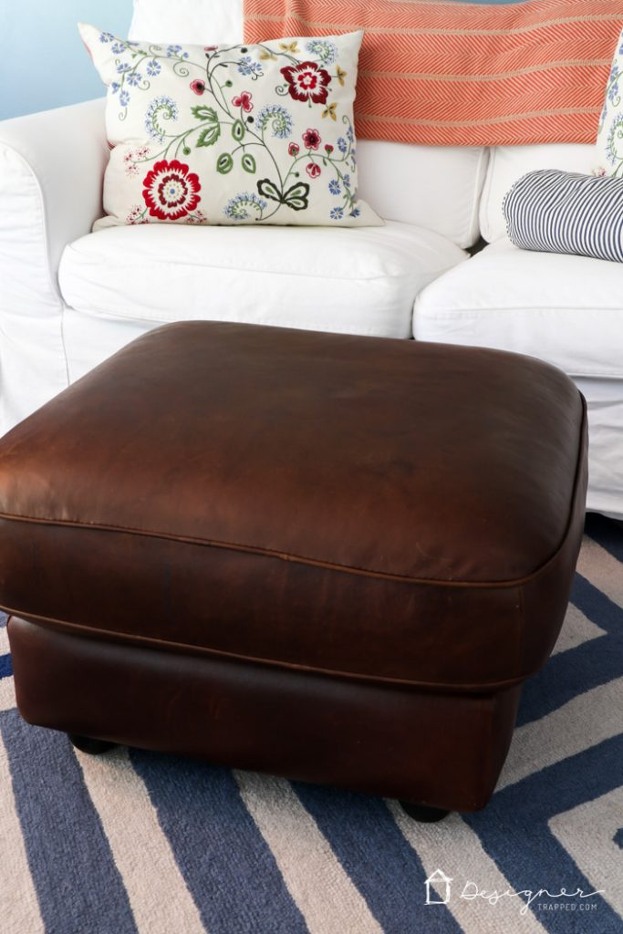 I Had No Idea How To Restore Leather Furniture, But This Makes It