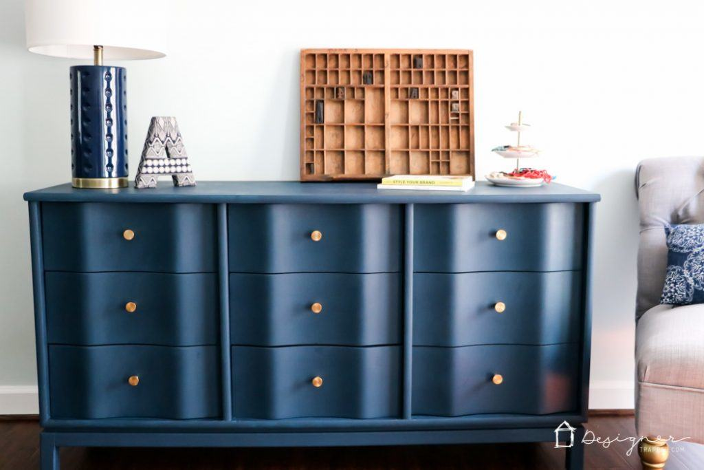 How To Paint Wood Furniture Designer Trapped