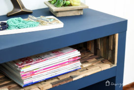 Ikea Lack Hack – A high-end look on a dime!