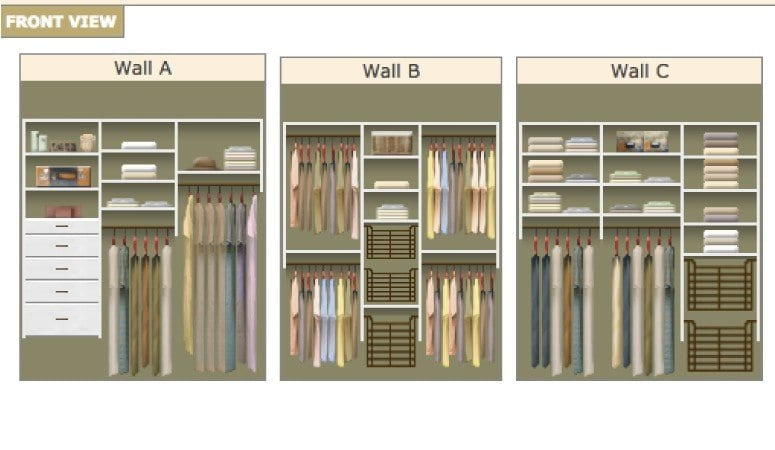 DIY Closet System Plans | Designer Trapped