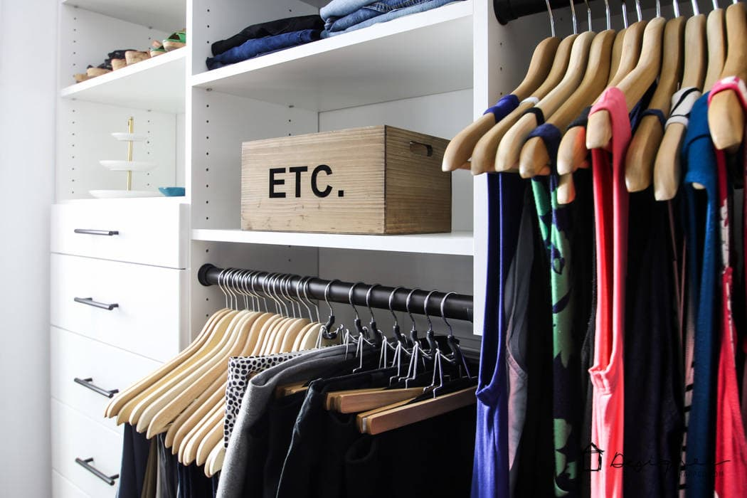 DIY Closet System Plans | Designer Trapped