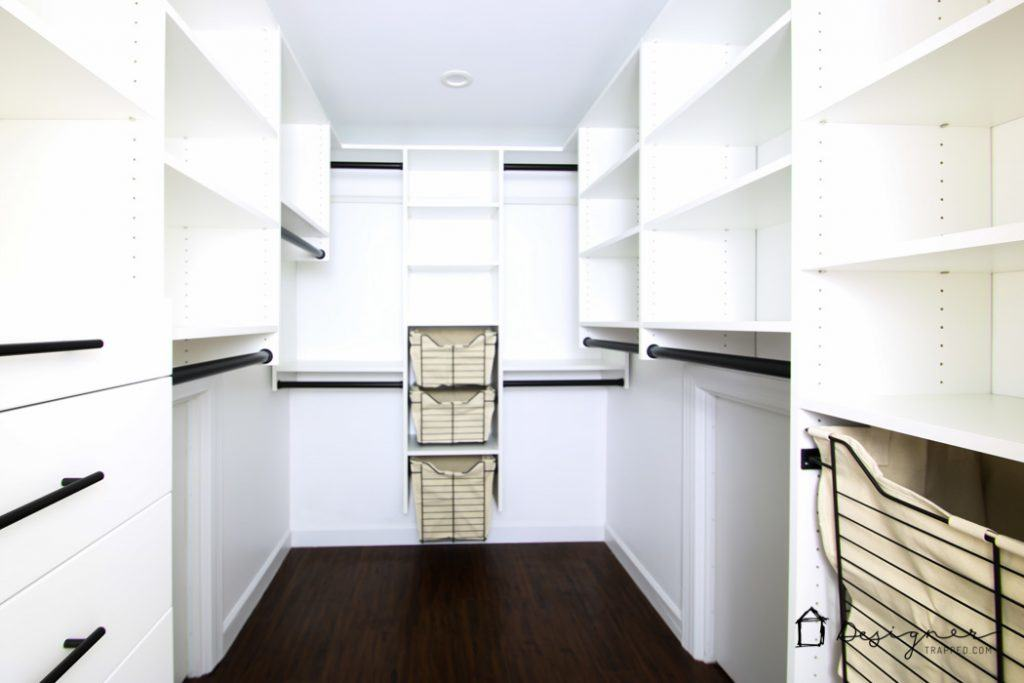 This Diy Closet System Reveal Is Seriously Amazing Its Beautiful And Seems  Easy