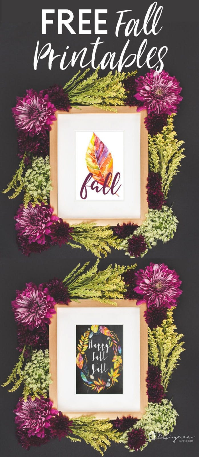 Update your home for fall with these fabulous and FREE fall printables!