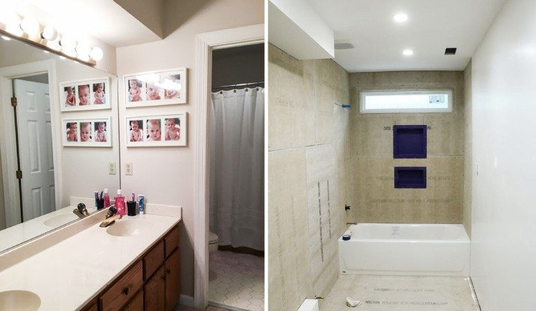 Bathroom Renovation Update