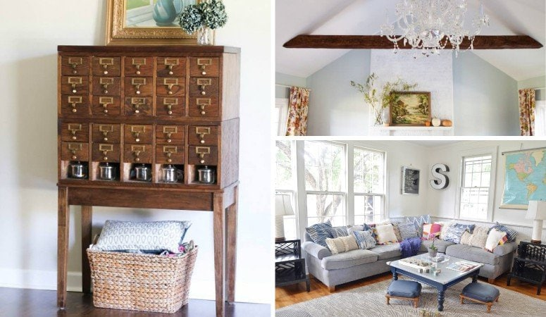 25 creative ways by which you can paint your living room for Do it yourself living room ideas