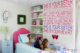 Make Your Own Decals to Create a Custom Wall Quote
