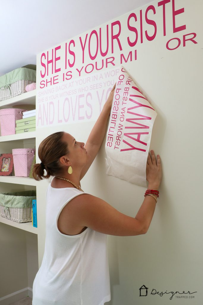 You Can Make Your Own Decals To Create Any Custom Wall Quote