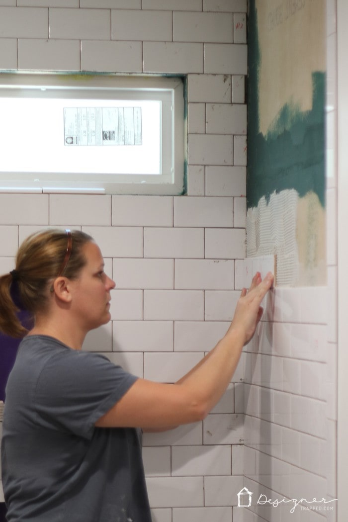 Bathroom makeover another renovation update designer trapped for How to update a bathroom without renovating