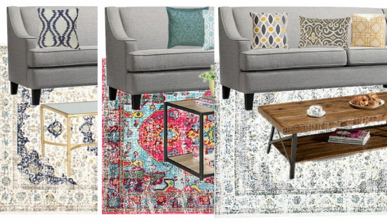 The Best Sofa Color for Design Flexibility ~ One Couch, 3 Ways!
