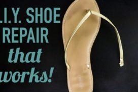 DIY Shoe Repair (it's cheap and EASY)