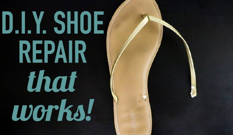 DIY Shoe Repair (it's cheap and EASY)