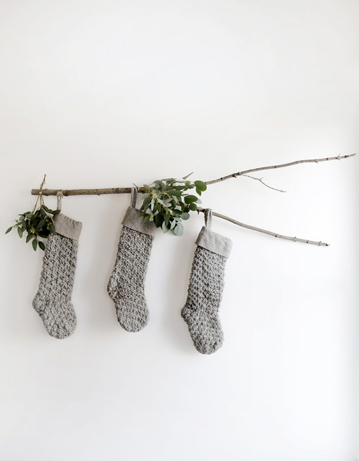 Ohhhh, yes! Love this round-up for DIY Christmas stocking ideas and creative ways to hang them. I wanted to make my own Christmas stocking, but couldn't come up with any good ideas. Going to make either number 3 or 8!