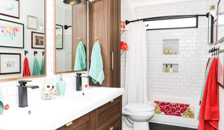 DIY Bathroom Remodel REVEAL