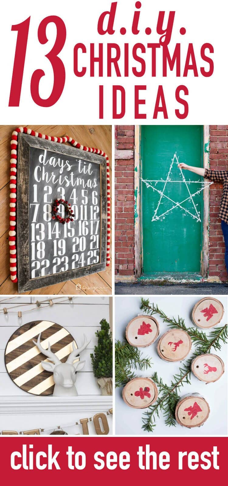 love these original and creative diy christmas decorating ideas if you need ideas for christmas