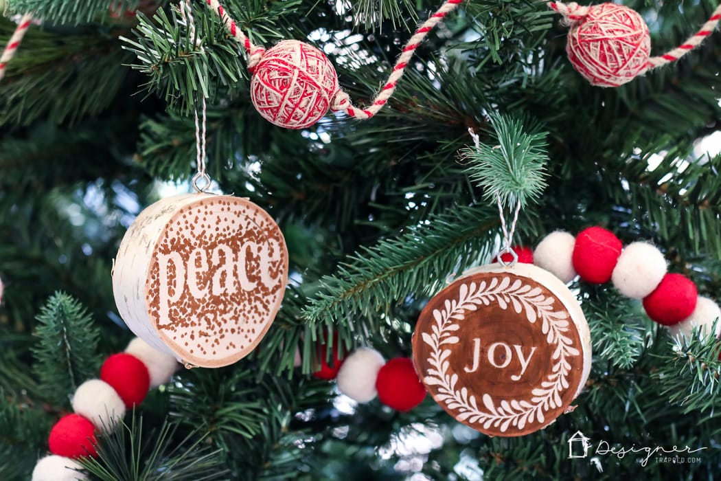 Easy beautiful diy wooden ornaments designertrapped