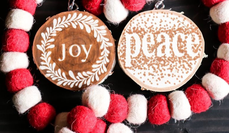 Easy and Beautiful DIY Wooden Ornaments