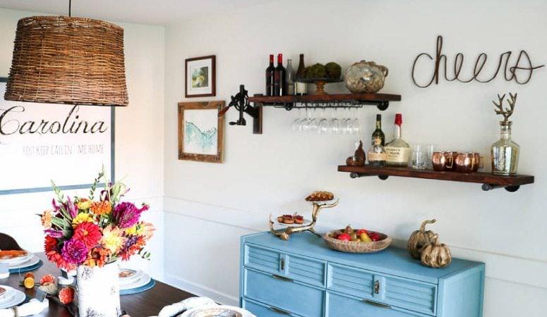 DIY Pipe Shelves- Easiest Tutorial EVER