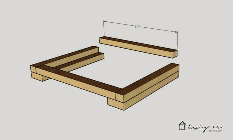 This DIY wooden step stool is amazing. It looks so modern and I & DIY Wooden Step Stool With White Concrete Top | Designer Trapped ... islam-shia.org