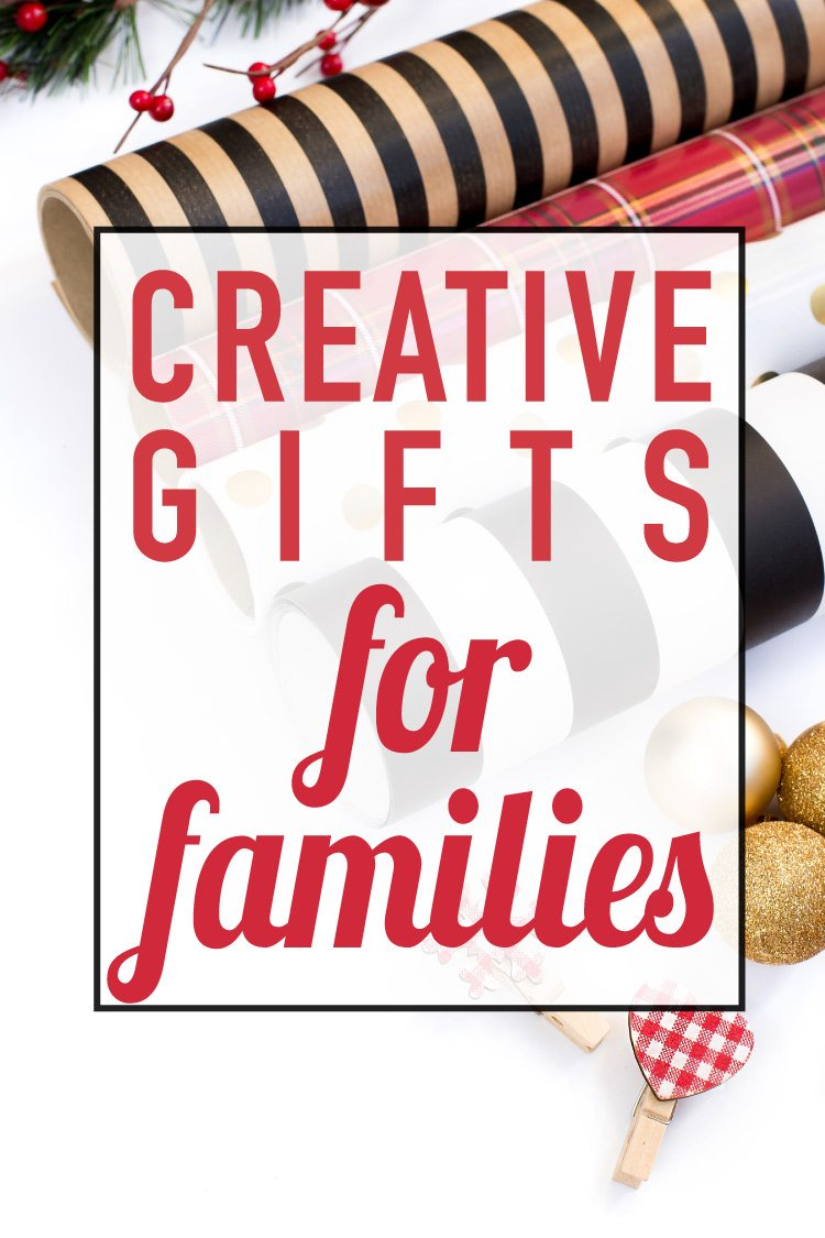 AWESOME Family Gifts That Are Sure to be a Hit! | Designertrapped.com