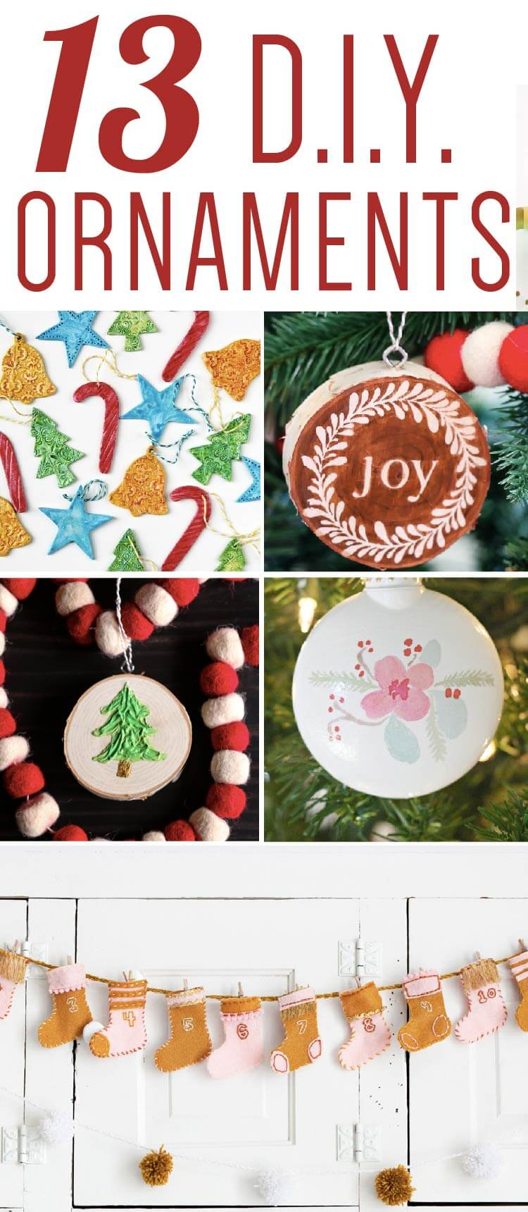 diy unique christmas ornaments & decoration ideas | designer trapped