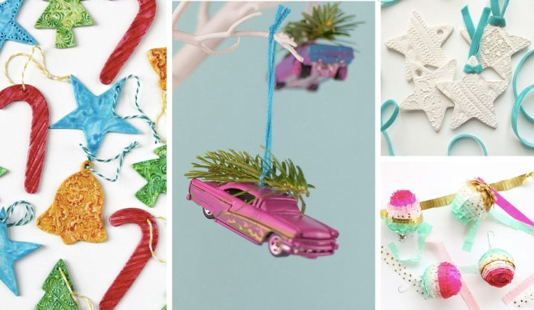 Unique Christmas Ornaments & Decorations You Can Make Yourself