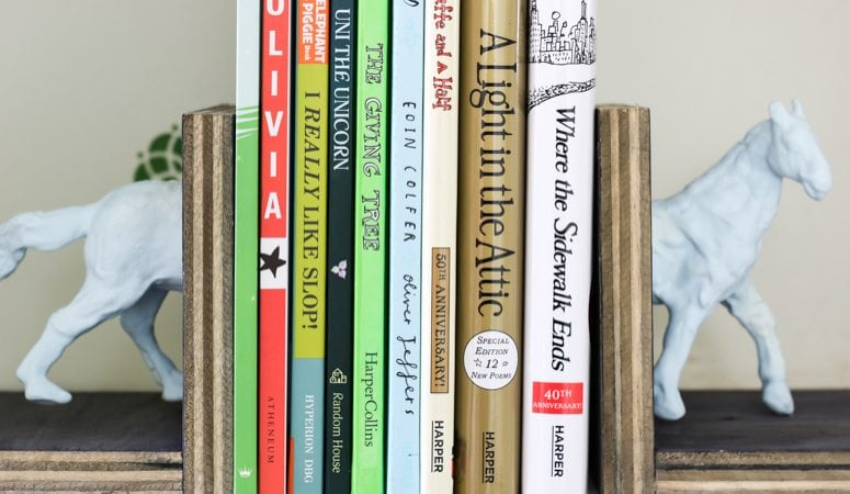 DIY Bookends: Get A High-end Look on a Dime