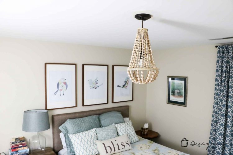 OMG, I love this DIY chandelier made from wood beads. It looks like it may take a while, but it doesn't look hard! I've wanted a wood bead chandelier but they are so expensive. Totally making this.