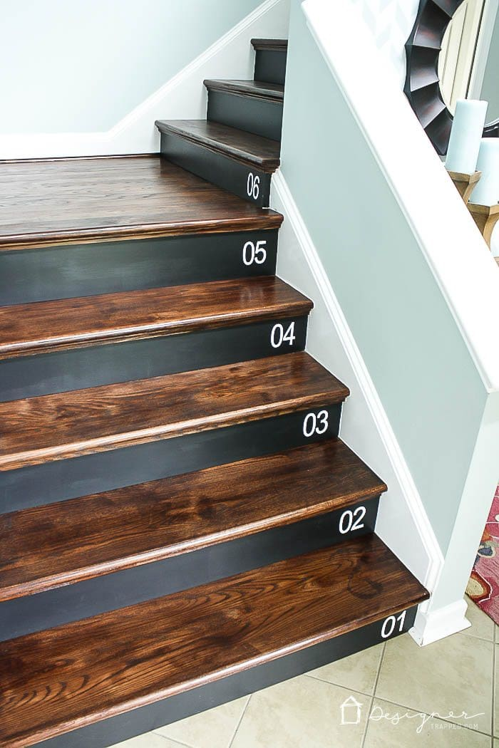 Learn How To Number Your Wood Stairs The Easy Way