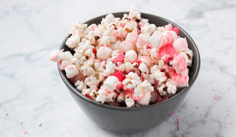 How to Make Pink Popcorn- It's Pretty and Delicious!