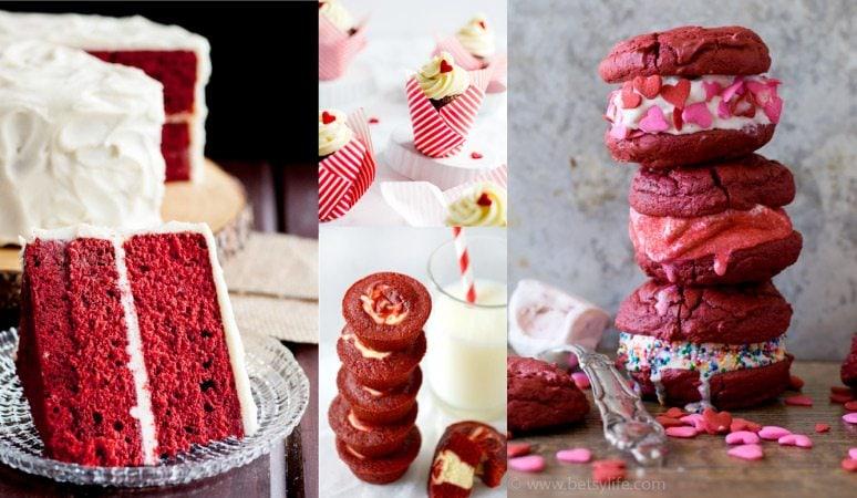 Amazing (and Romantic!) Red Velvet Valentine's Day Desserts
