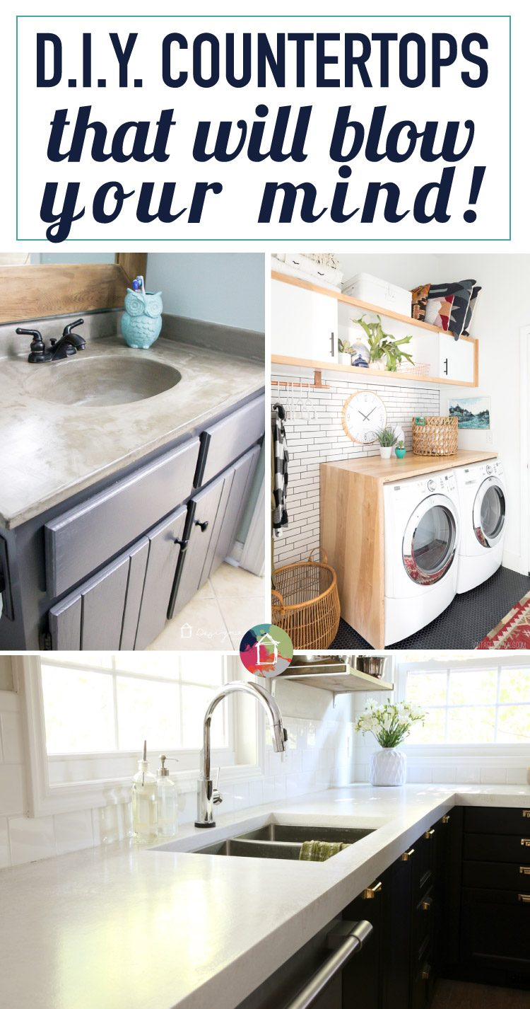 12 DIY Countertops That Will Blow Your Mind