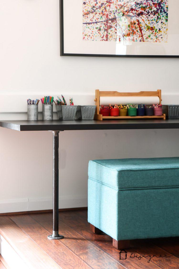 Diy Pipe Desk A K A The Easiest Desk Ever Designer