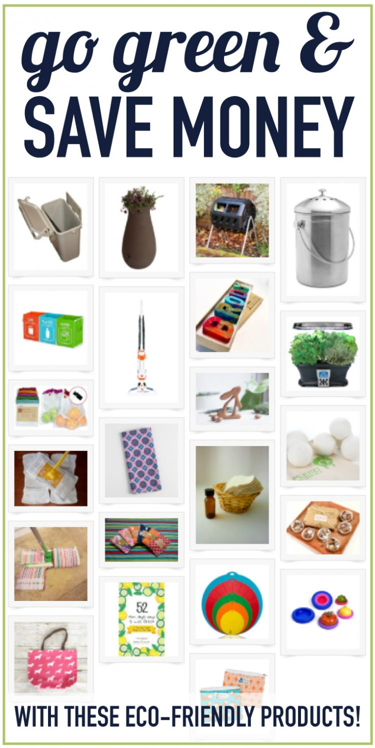 Eco products that make it fun to go green for Eco friendly home products