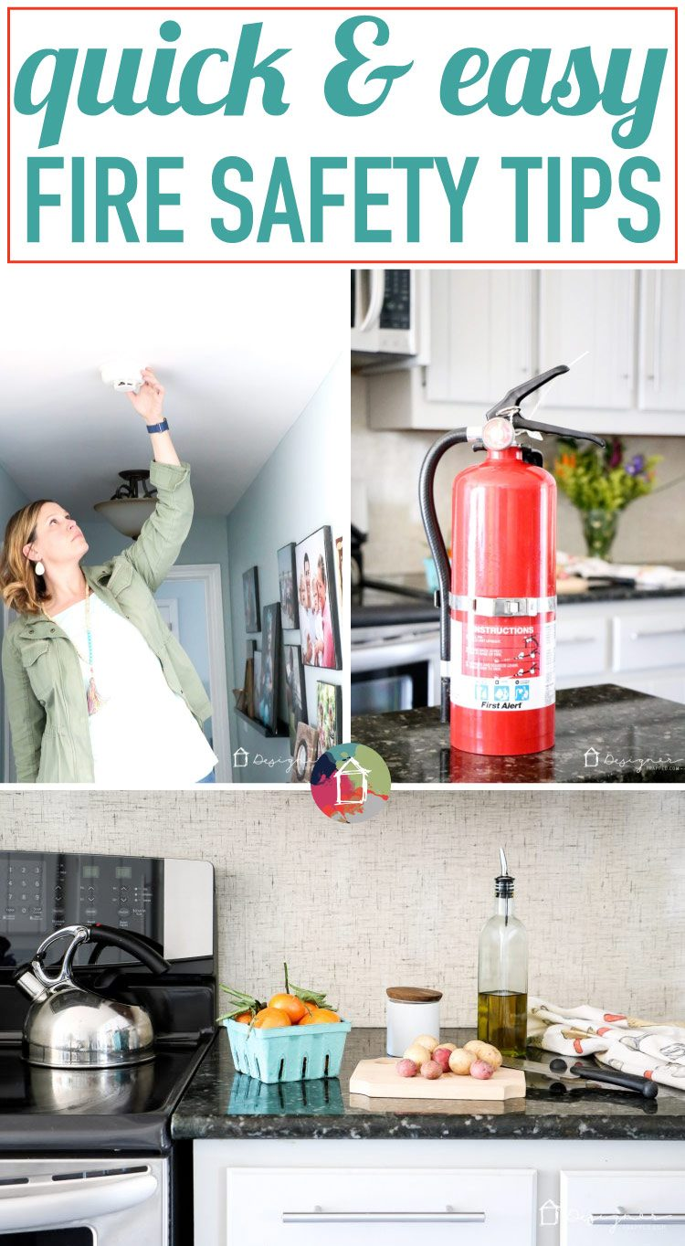 According to the National Fire Protection Agency, cooking causes almost half (48%) of reported home fires and (45%) home fire injuries, one of every five (22%) home fire deaths, and one-sixth (17%) of the direct property damage from home fires. Learn how NOT to set your house on fire with these fire safety tips! #ad