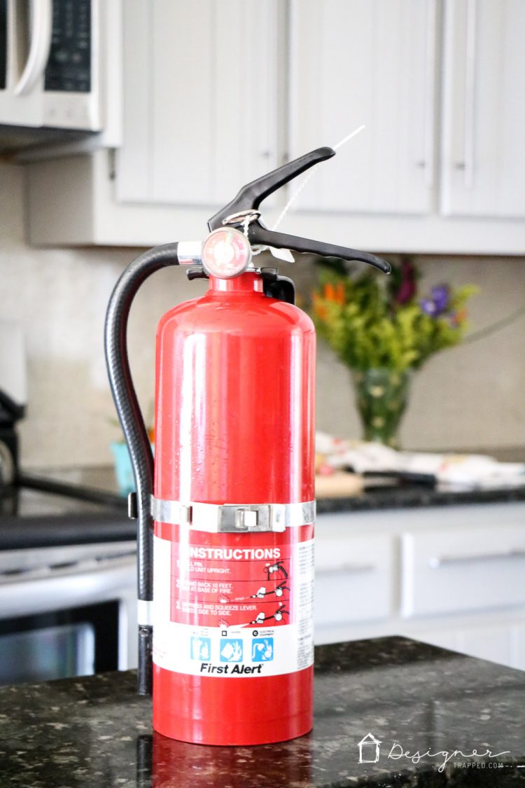 Fire safety at home. According to the National Fire Protection Agency, cooking causes almost half (48%) of reported home fires and (45%) home fire injuries, one of every five (22%) home fire deaths, and one-sixth (17%) of the direct property damage from home fires. Learn how NOT to set your house on fire with these fire safety tips! #ad