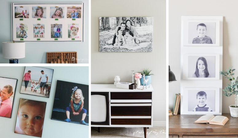 My Favorite Creative Photo Display Ideas