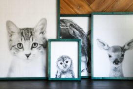 DIY Large Wall Art On a Budget!