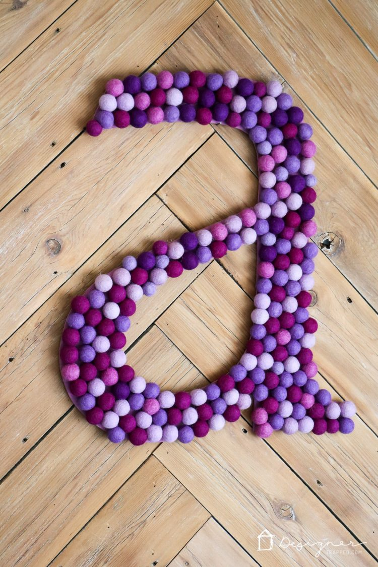 Decorative Wall Letters Pinterest : How to make decorative letters for your walls designer
