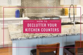 How to Declutter Your Kitchen Countertops (and keep them that way)!
