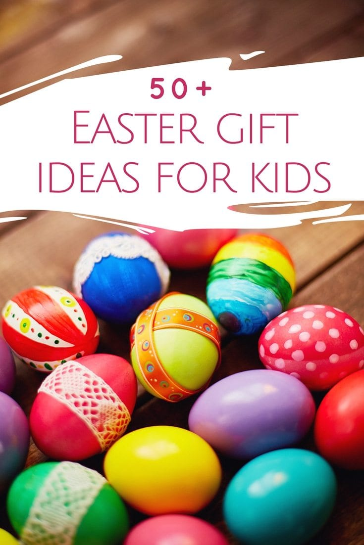 Free Easter gift tags and Easter basket ideas! Struggling with ideas to fill your kids' Easter baskets (with something other than candy)! Choose a fun theme! This post is full of themed Easter baskets for kids. Such creative Easter basket ideas. Love the art themed basket!