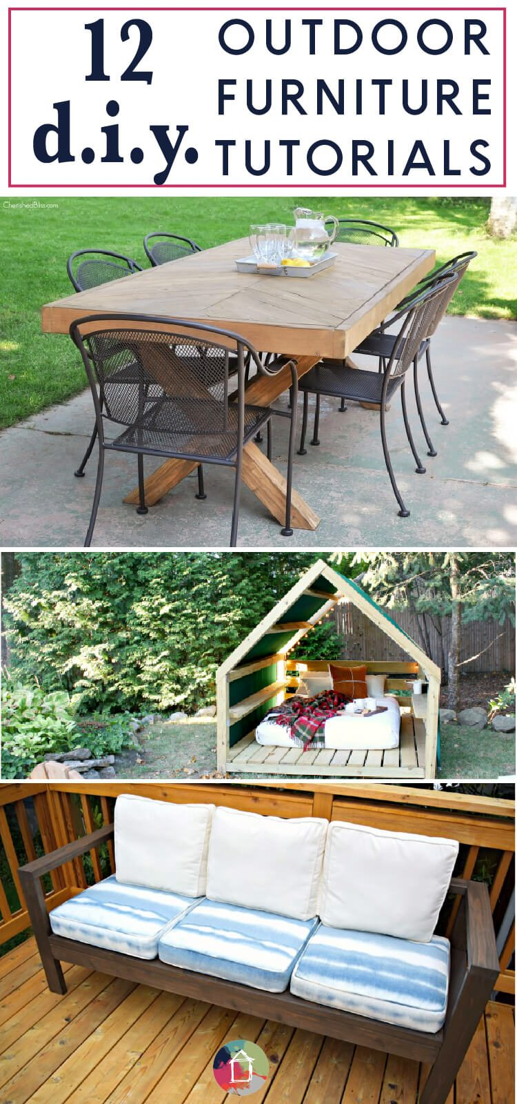 Outdoor Furniture Can Be So Expensive But These DIY Projects Are High On