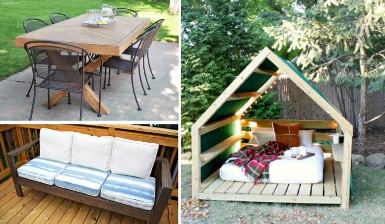 outdoor furniture can be so expensive but these diy outdoor furniture