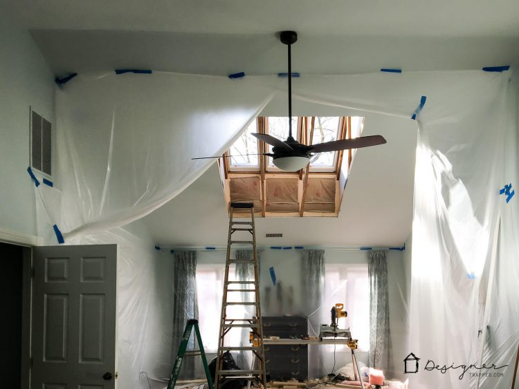 Stop ignoring the fifth walls in your home! That's right, I'm talking about your ceilings :) Come learn all about how we plan to add interest to our fifth walls with VELUX Skylights. #sponsored