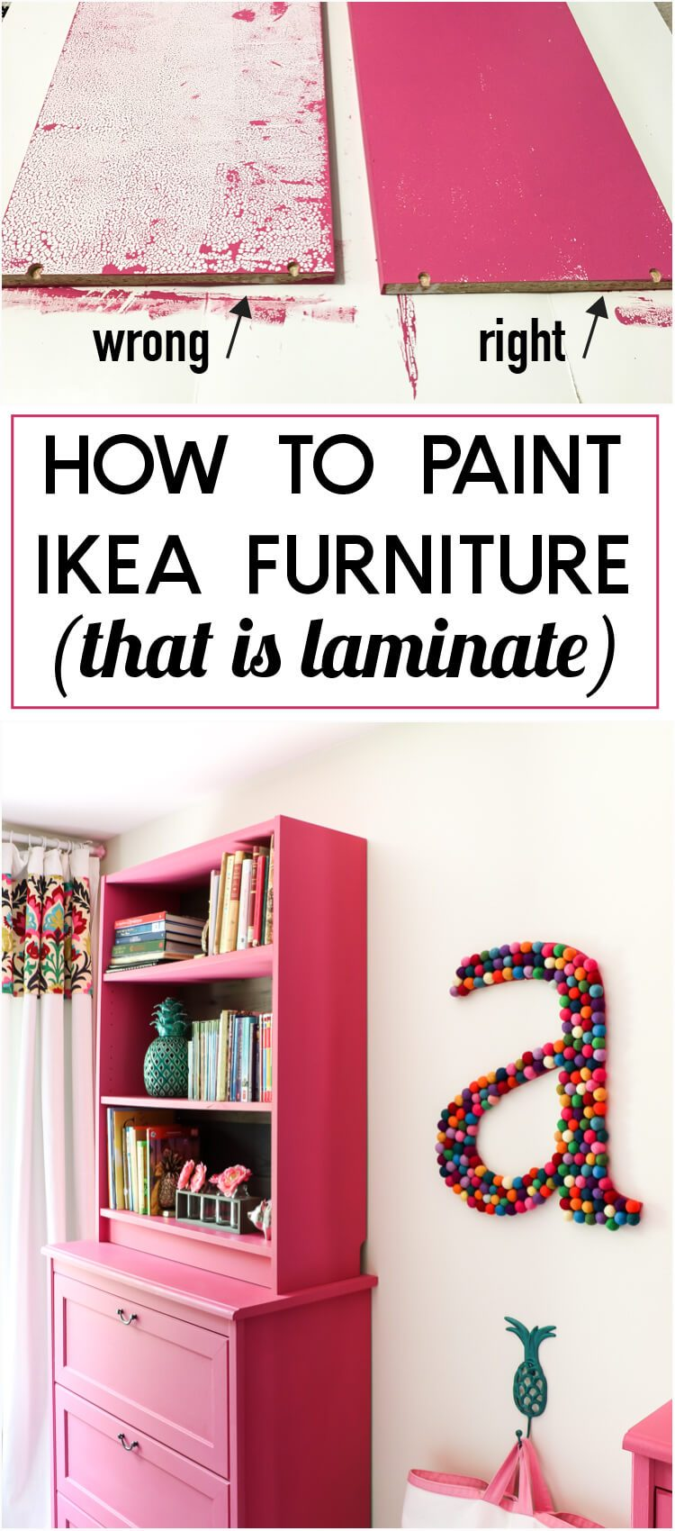 A Tutorial For Painting Ikea Furniture