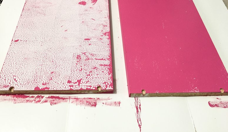 The Trick to Painting Ikea Furniture (and how NOT to do it)