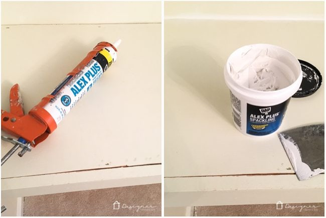 Have a lot of patch work to do? This is my new favorite spackle by far! It's like caulk and spackle had a baby!