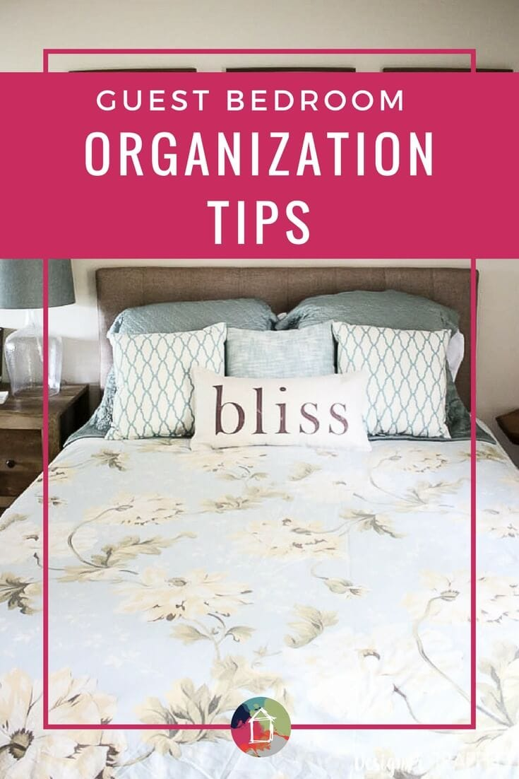 So many guest rooms need to serve multiple purposes  Love these bedroom  organization ideas. Guest Bedroom Organization Tips   Tricks   Designertrapped com
