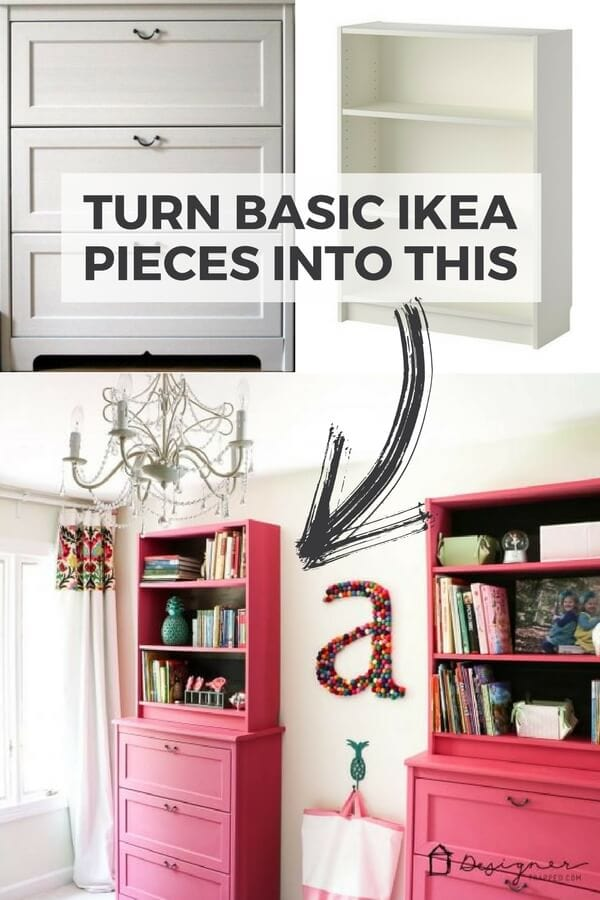ikea billy bookcase hack storage style. Black Bedroom Furniture Sets. Home Design Ideas